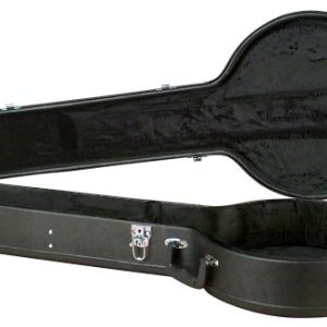 Black Hardshell 5-string Resonator Banjo Case