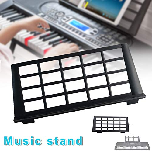 birl019 Keyboard Music Score Stand Sheet Musical Instrument Parts Portable Durable Holder