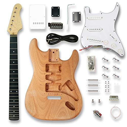 DIY Electric Guitar Kits for ST Electric Guitar, okoume Body
