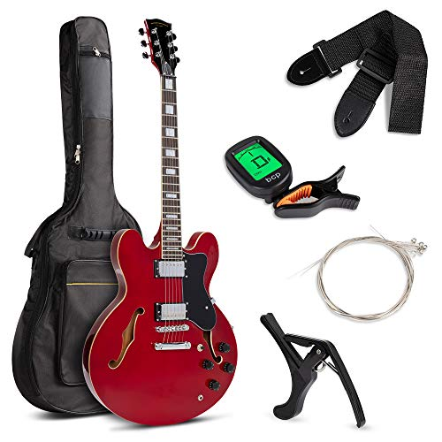 All-Inclusive Semi-Hollow Body Electric Guitar