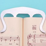 Music Book Clip- Page Holder for Sheet Music Stands, Pianos, Musicians