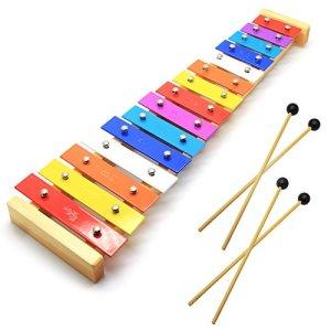 Wooden Toddler Xylophone Glockenspiel For Kids