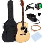 Full Size All-Wood Acoustic Guitar Starter Kit w/Gig Ba