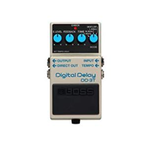 BOSS Digital Delay Guitar Effect Pedal (DD-3T)