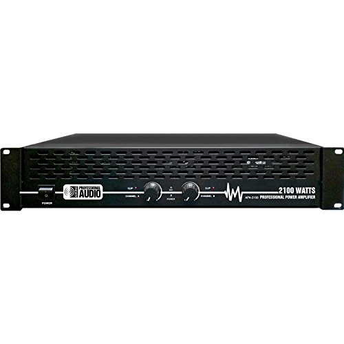 2100 Watt Professional DJ Power Amplifier - Adkins Pro Audio - Quality Audio at Affordable Prices!