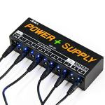 MIMIDI Guitar Pedal Power Supply - 10 Isolated PedalBoard Power DC Output for 9V/12V/18V Effect Pedal