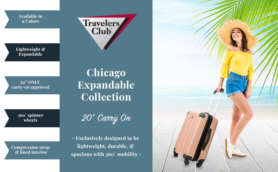 travelers club luggage