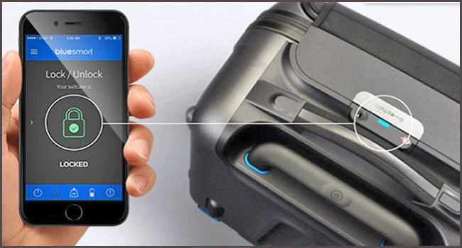 Smart luggage features