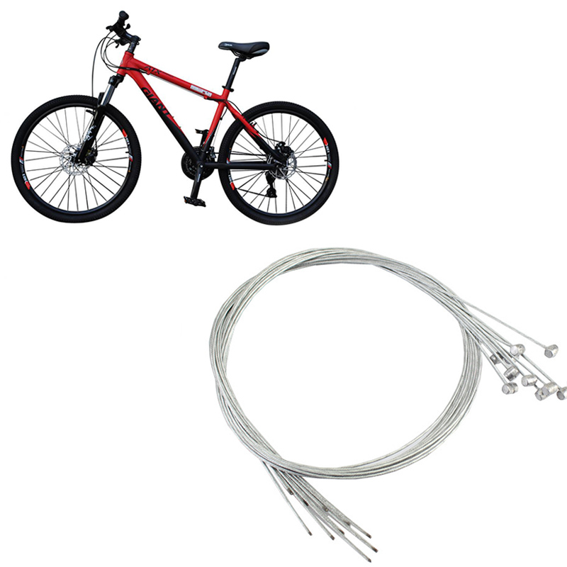 2X Stainless Bike Bicycle Derailleur Shift Shifter Cable