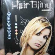 hair bling gems rhinestones diamonds