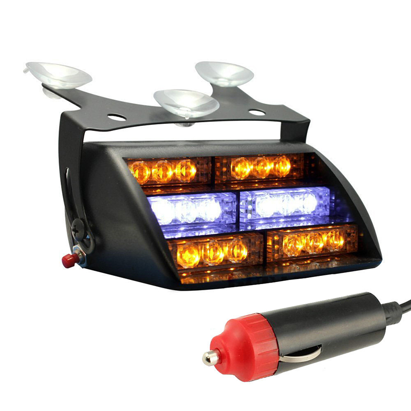18 Red LED FIREFIFGTER VEHICLE EMERGENCY DASH WARNING