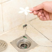 New Home Bathroom Shower Drain Chain Cleaner Hair Clog