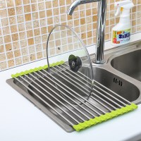 Kitchen Sink Storage Dish Drying Rack Holder Fruit ...