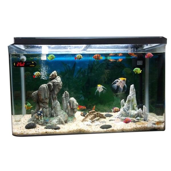 10pcs Aquarium Tank Plastic Artificial Swimming Fake Fish