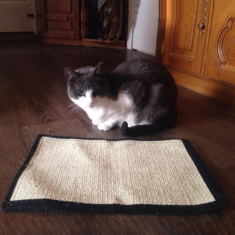 Pet Cat Scratch Roll Scratching Board Sisal Hemp Carpet