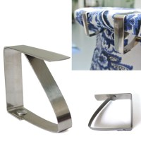 4Pcs Stainless Steel Tablecloth Table Cover Clips Holder ...