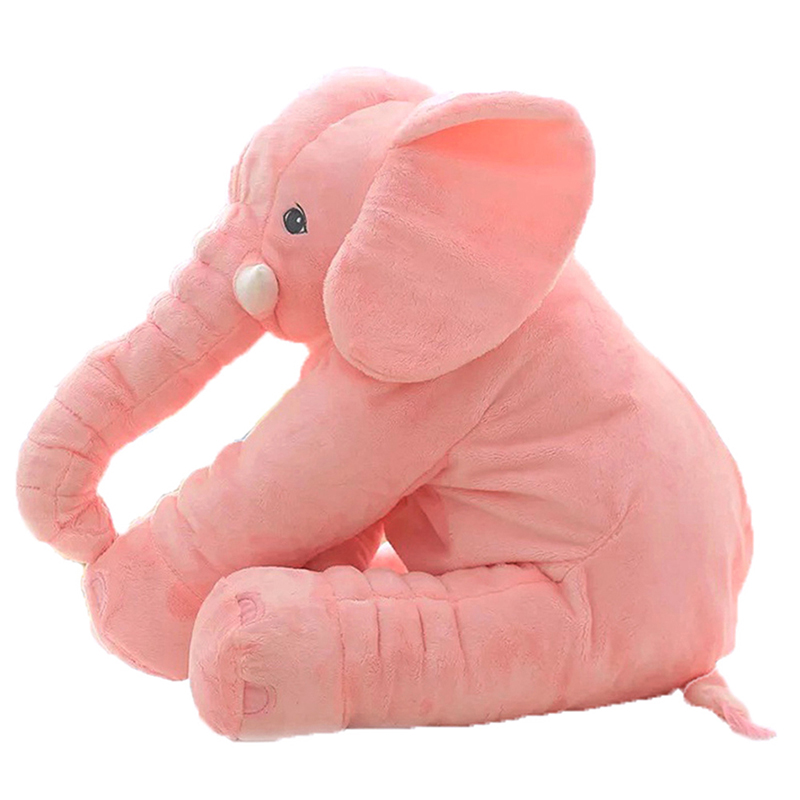 Long Nose Elephant Plush Doll Pillow Soft Stuff Toys