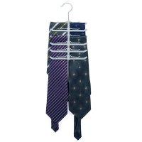 New Fishbone Necktie Tie Belt Hanger Rack Shawl Scarf Clip ...