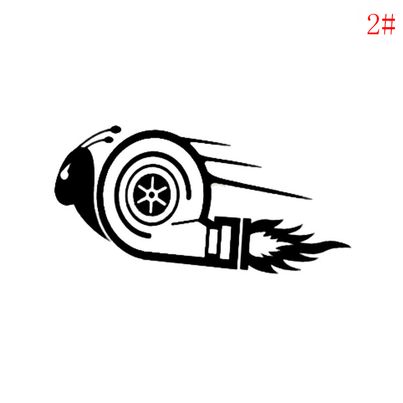 Turbo Snail Car Decal Vinyls Sticker JDM DUB Drift Race