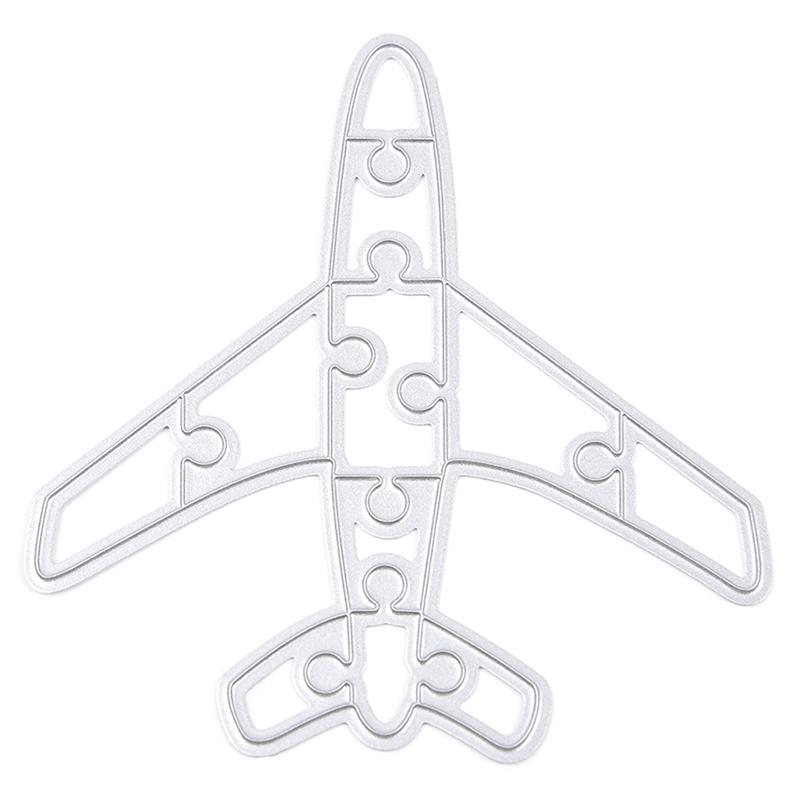 Metal Airplane Cutting Dies Stencil For DIY Scrapbook