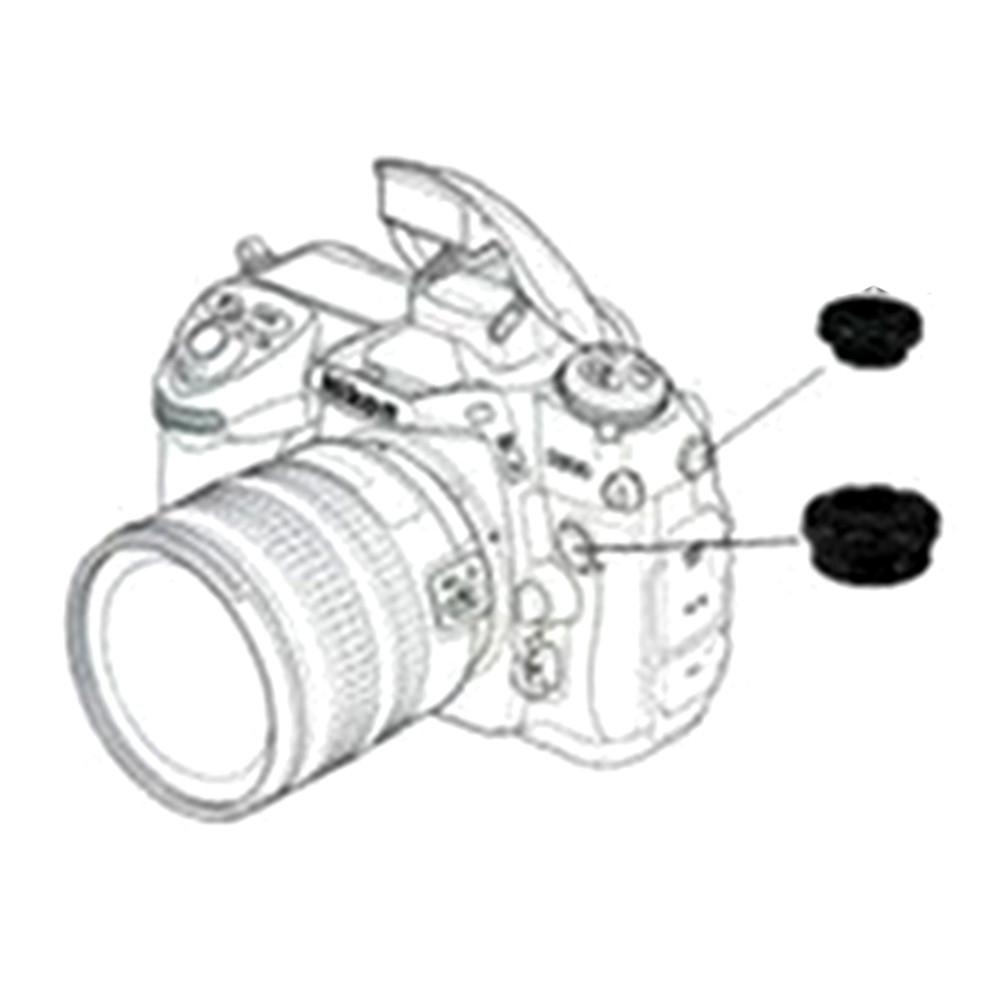 10PCS PC Sync Terminal Cap Cover for Nikon D200 D2X Fuji