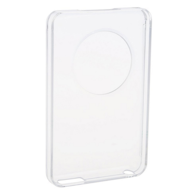 For Ipod Classic 80 GB Clear Crystal Hard Casetector Front