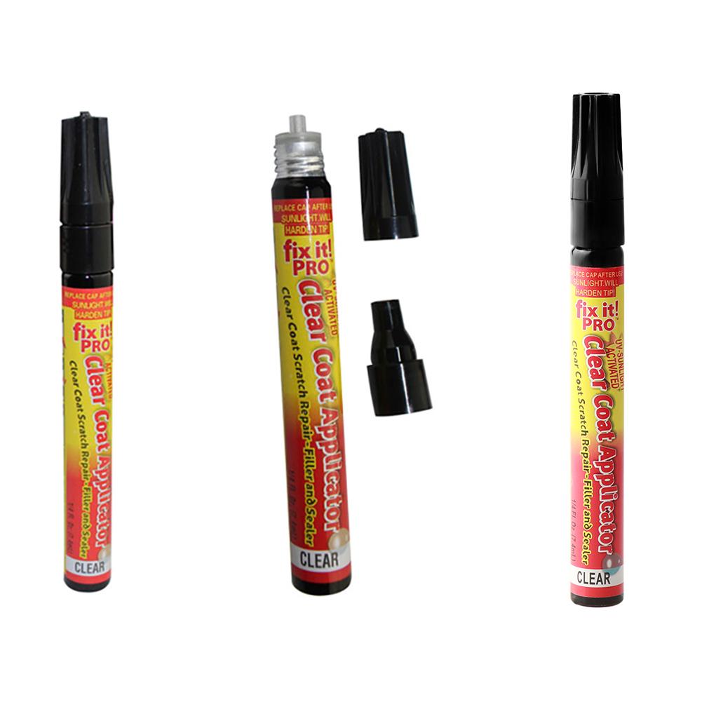 2X Fix It Car Vehicle Scratch Repair Remover Pen Clear