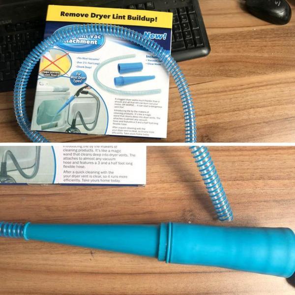 Dryer Vent Lint Vac Vacuum Removal Attachment Clean