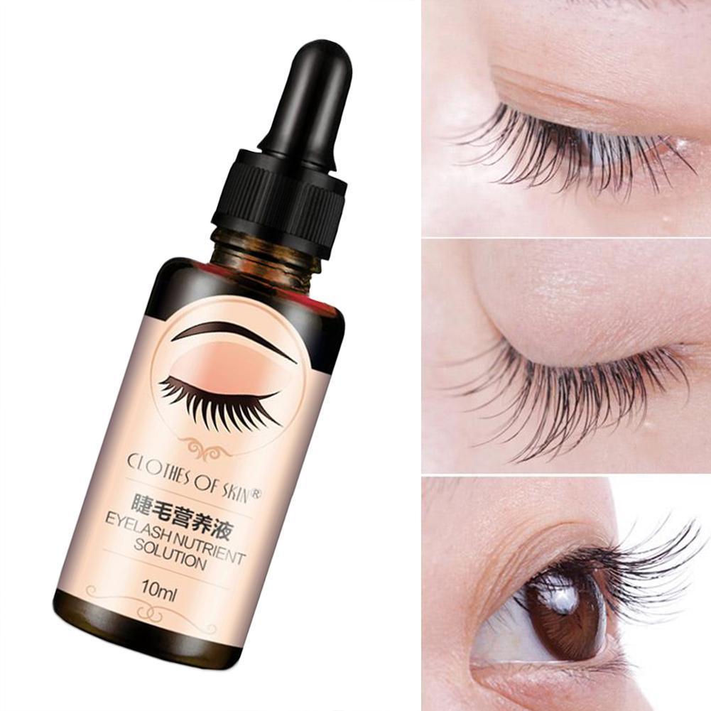 Eyelash Growth Serum Liquid Eyelash Enhancer Vitamin E ...