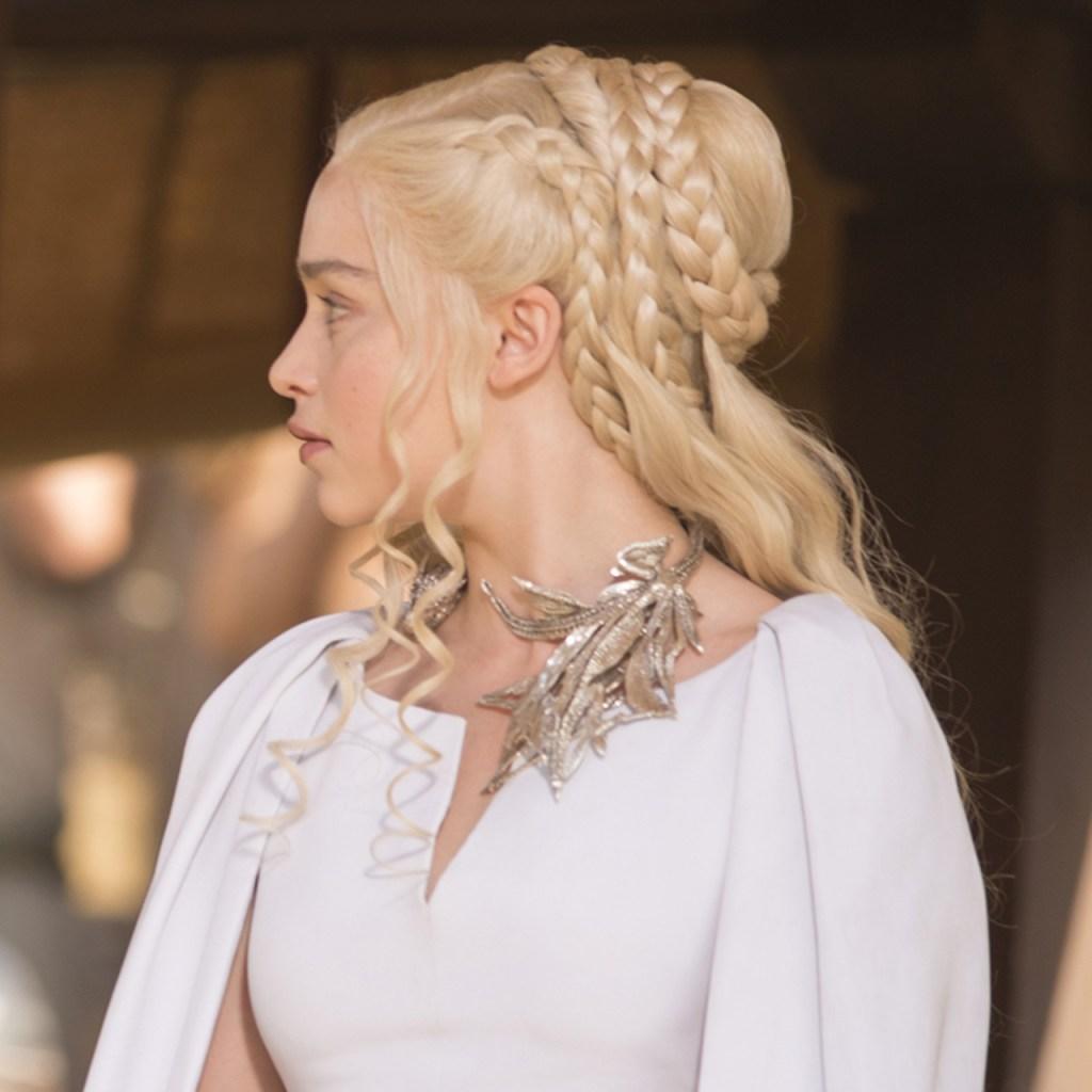 Así es como han cambiado los peinados de Daenerys Targaryen a través de las temporadas de «Game of Thrones»