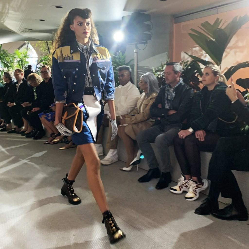 Así fue como vivimos el desfile #LVCruise 2020 de Louis Vuitton