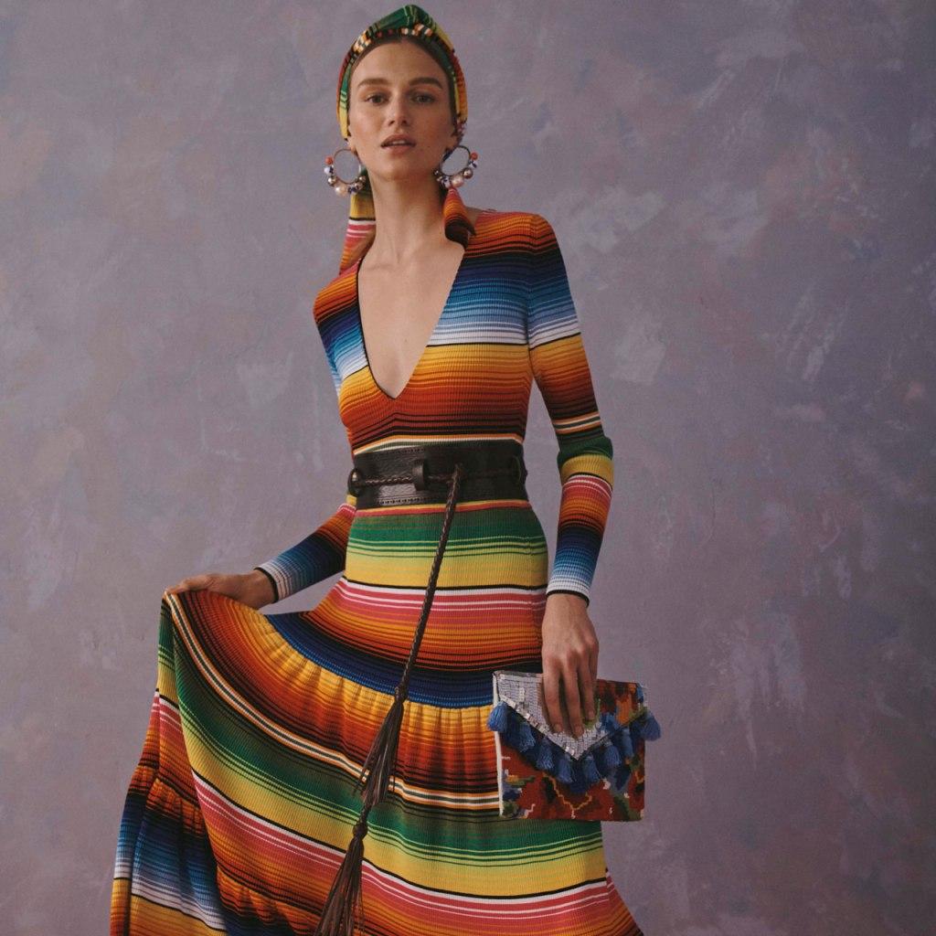 Carolina Herrera lanza su colección Resort 2020 inspirada en México