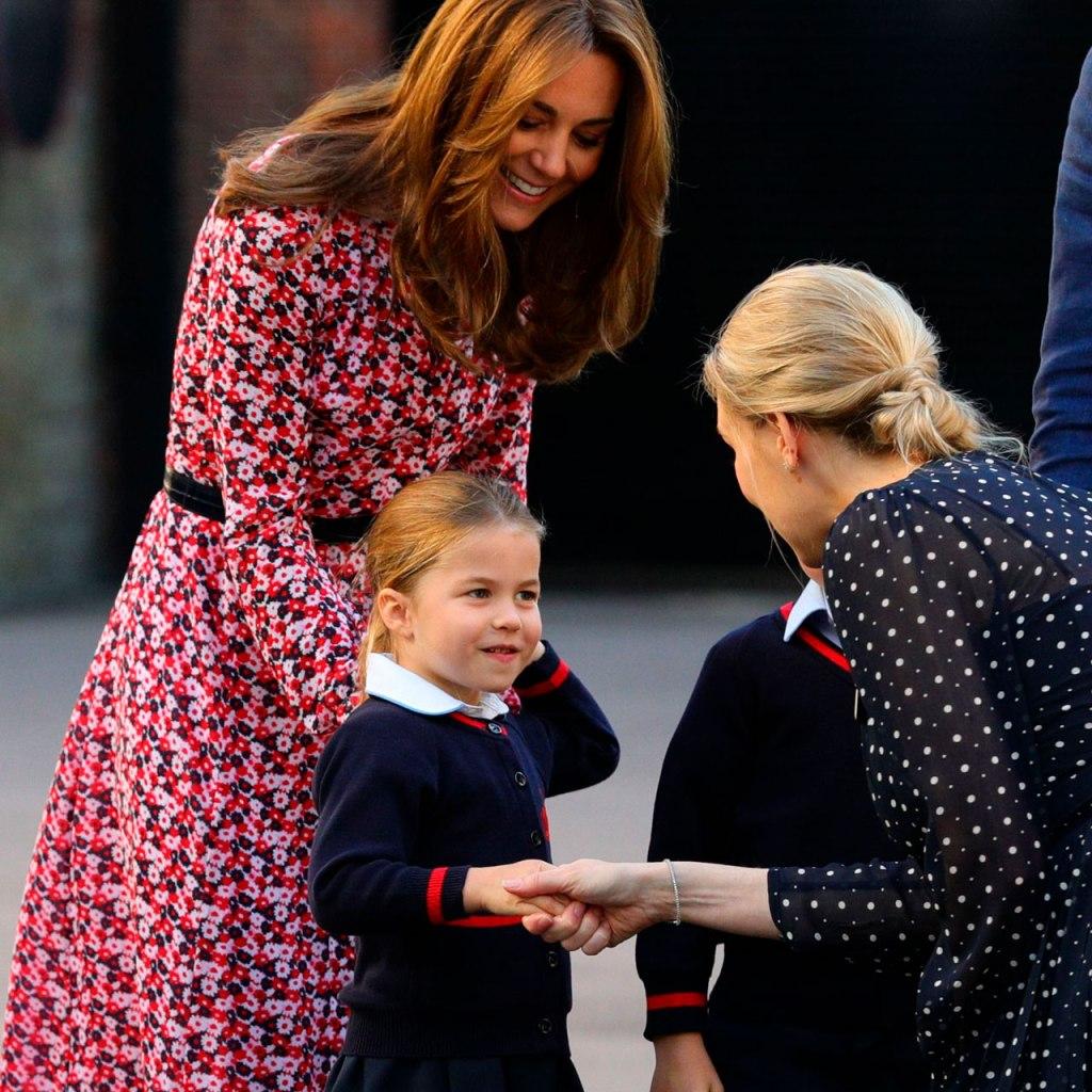 Este es el apodo 'badass' que la princesa Charlotte tiene en su escuela