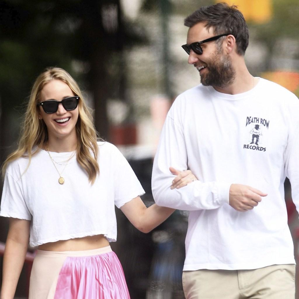 El outfit de Jennifer Lawrence es la solución más chic cuando no sabes qué ponerte