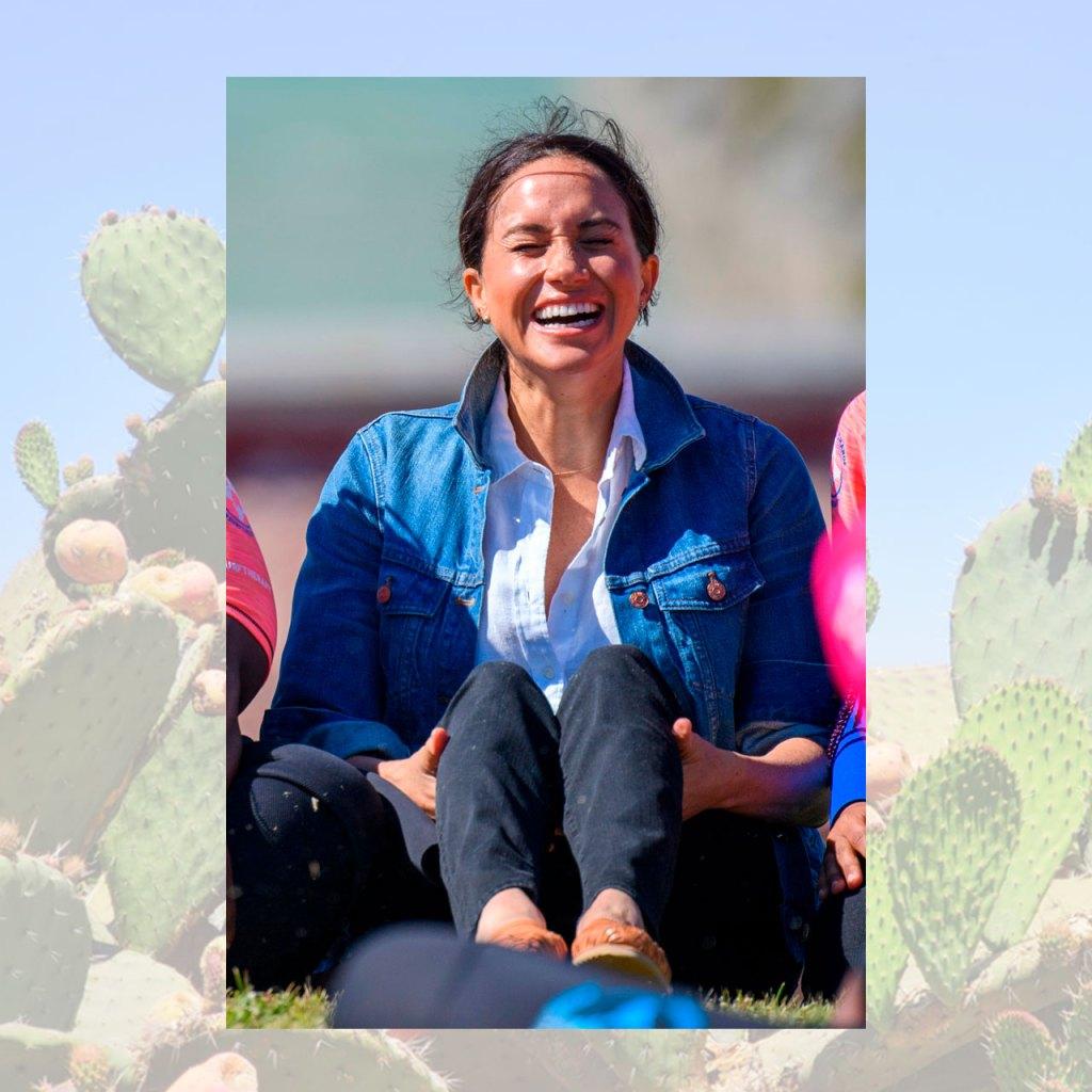 Meghan Markle completó su look con huaraches hechos en México