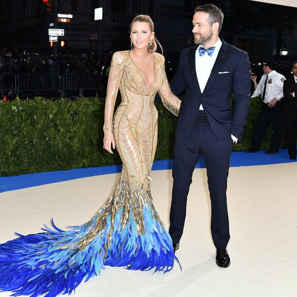 Blake Lively combinó su primer look público post-parto con Ryan Reynolds