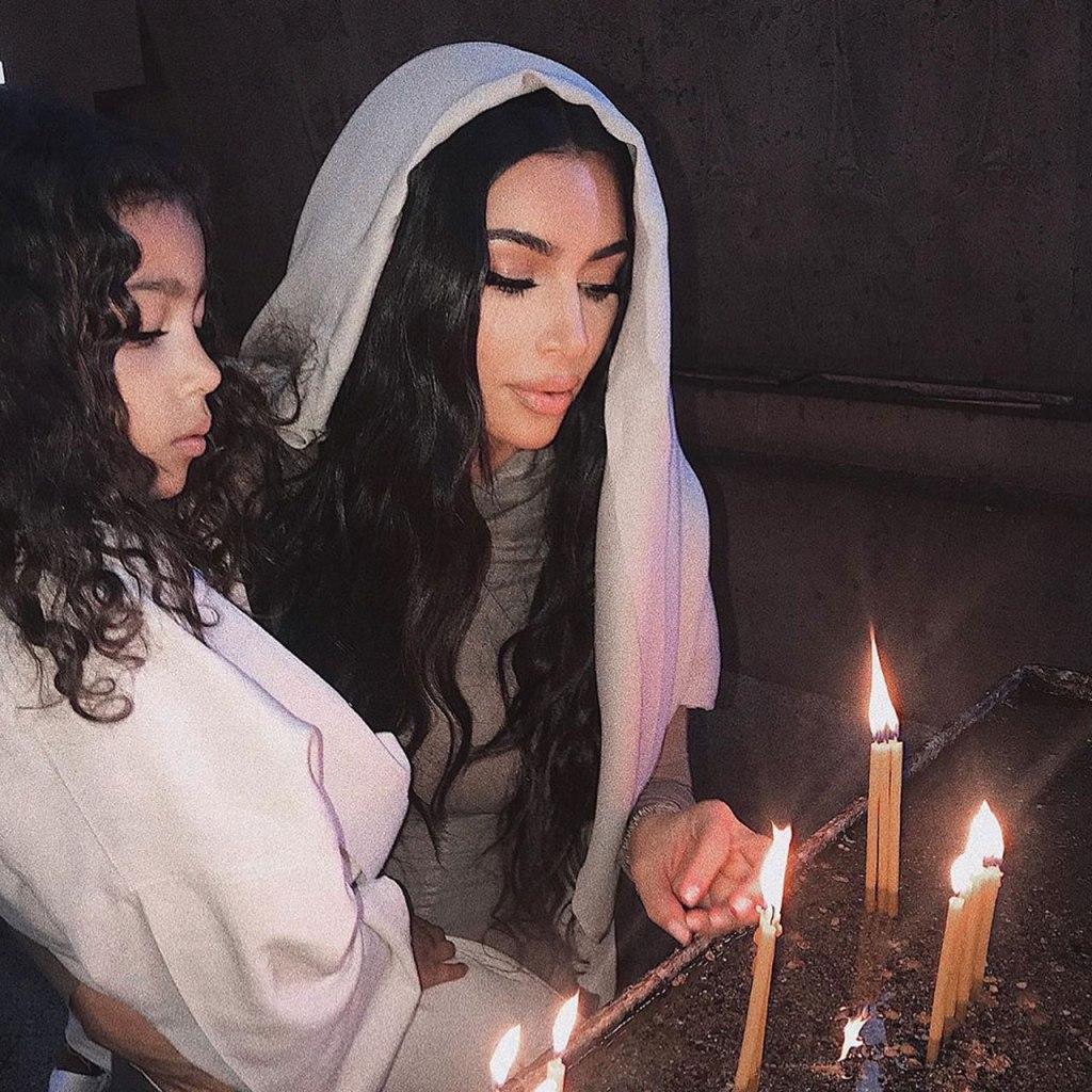 Los hijos de Kim Kardashian tuvieron su bautizo en Armenia