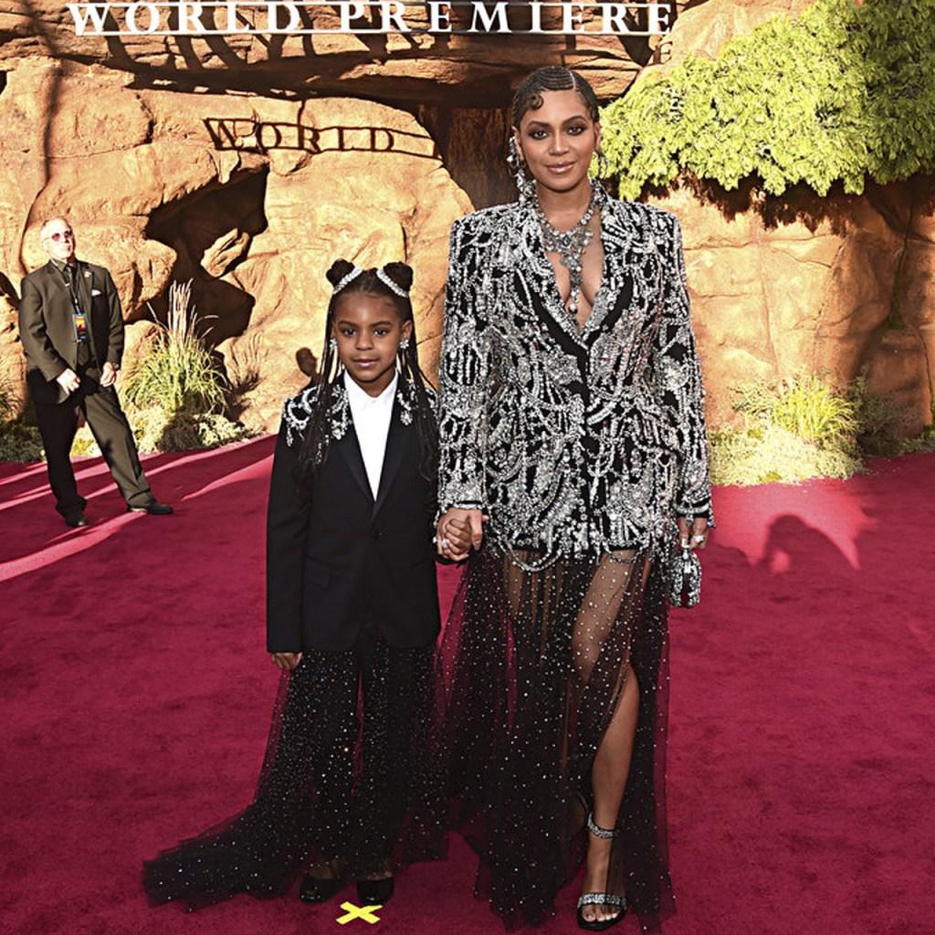 Blue Ivy (hija de Beyoncé) fue premiada como compositora a sus 7 años