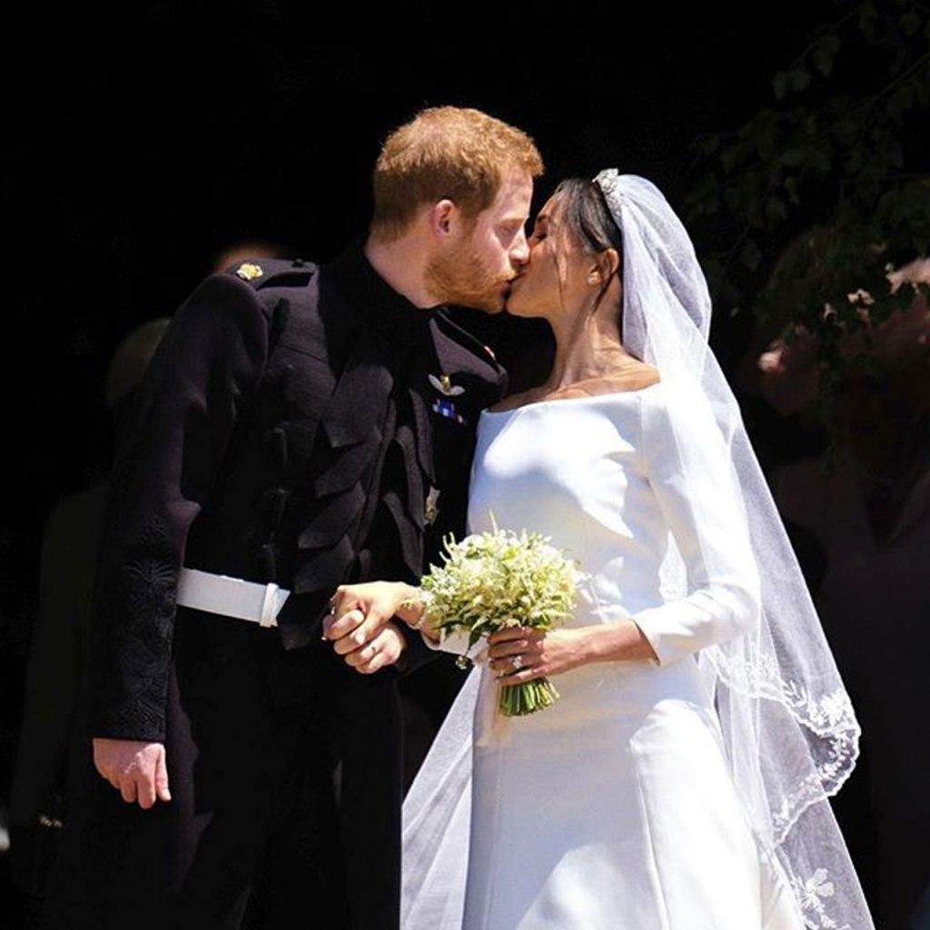 Harry y Meghan compartieron una foto nunca antes vista de su boda