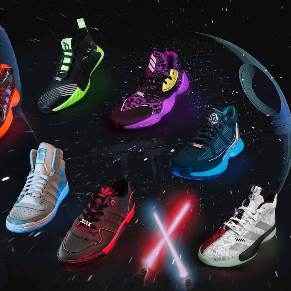 Adidas presenta su nueva colección de Star Wars y la necesitas, ¡YA!