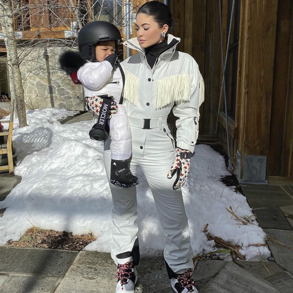 Kylie Jenner revela cómo le llama en realidad su hija Stormi