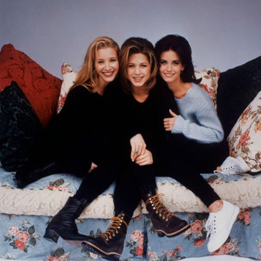 Jennifer Aniston, Courteney Cox y Lisa Kudrow pasaron un domingo juntas