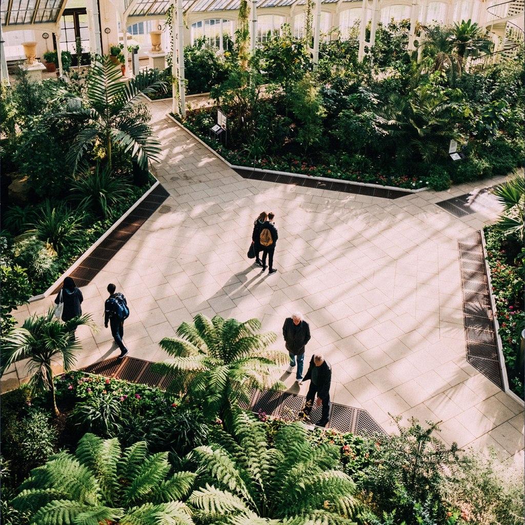 El jardín botánico más grande del mundo es propiedad de la reina
