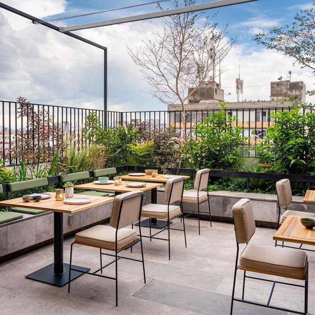 Esta es la terraza perfecta (en la CDMX) para un catch up con tus amigos