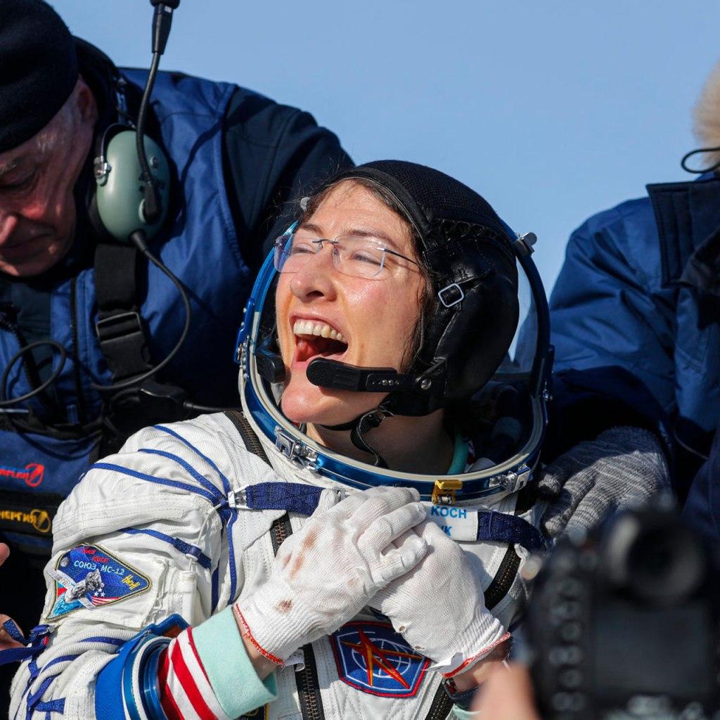 Todo lo que debes saber sobre la astronauta Christina Koch y su récord