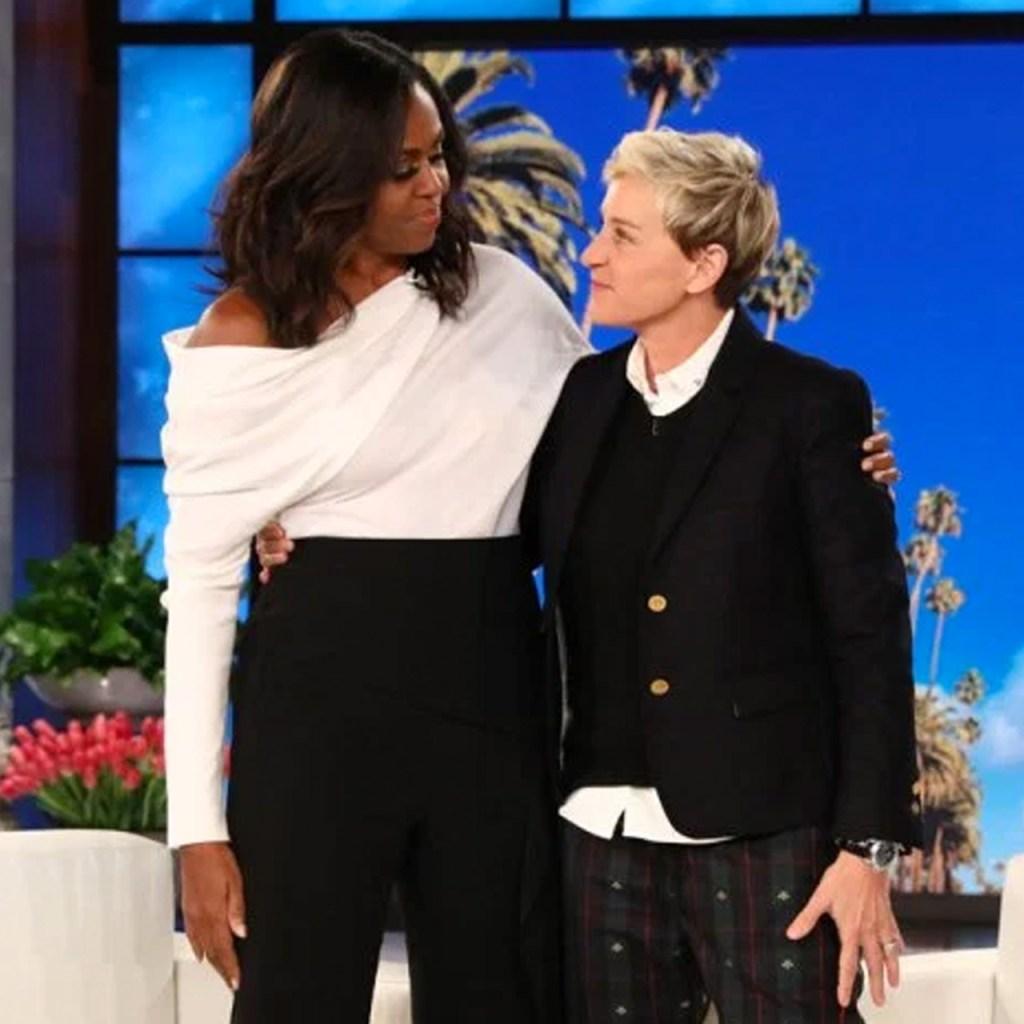 El FaceTime de Ellen DeGeneres y Michelle Obama es todo lo que necesitamos hoy