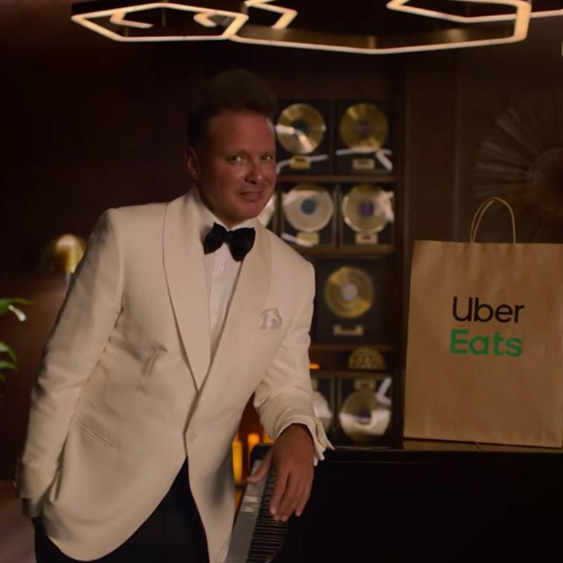 Luis Miguel protagoniza la nueva campaña de Uber Eats