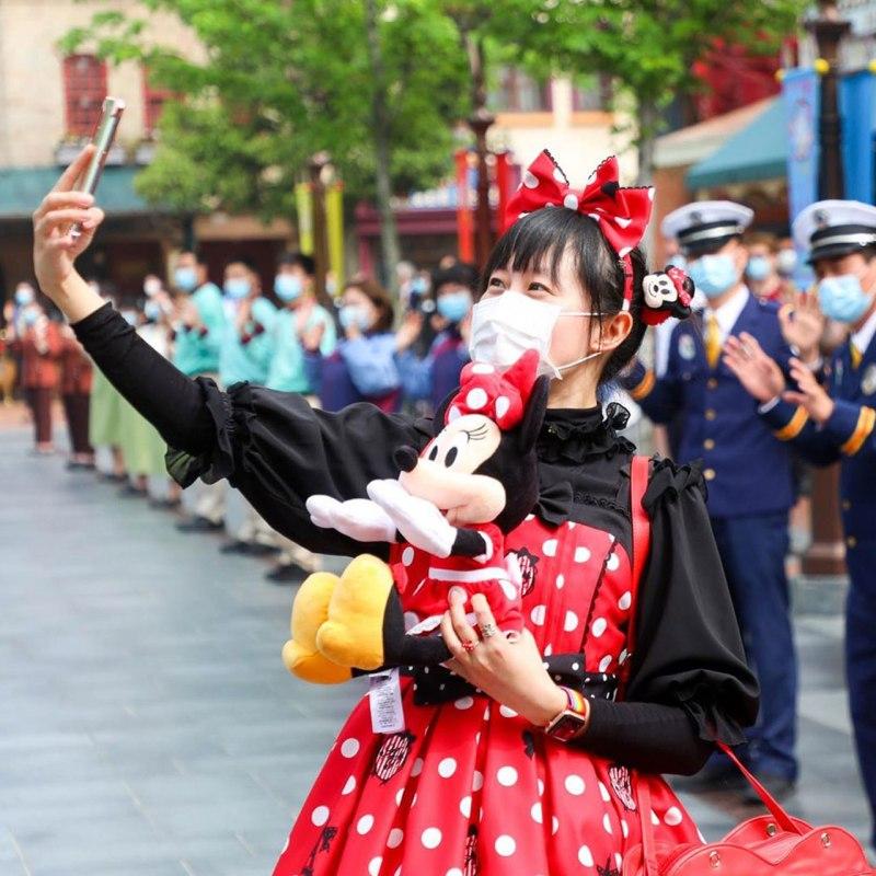 El parque de Disneyland Shanghai ¿reabrió para el público?
