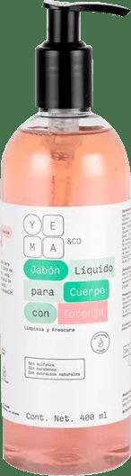 Jabón líquido para cuerpo con Toronja