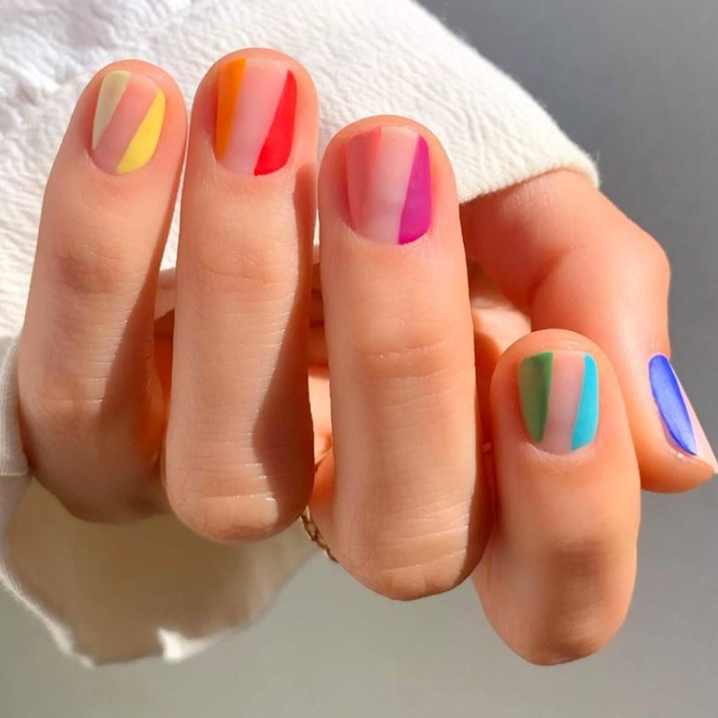 12 ideas de nail art inspirado en el mes de Pride